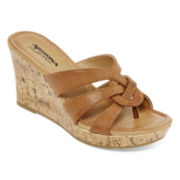 Arizona Caralin Wedge Sandals