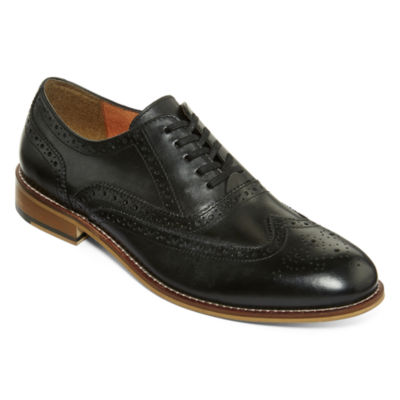 stafford 174 nolan s wingtip oxford shoes jcpenney