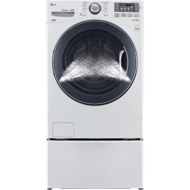 jcpenney.com | LG ENERGY STAR®  4.5 cu. ft. Ultra Large Capacity TurboWash™ Washer