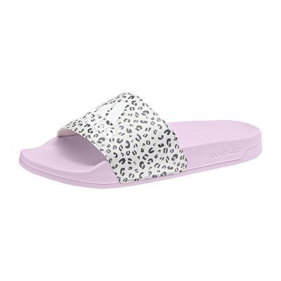 5450fa4f0ff9 Adidas Little Kid Big Kid Girls Adilette Shower K Slide Sandals ...