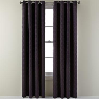 Studio Luna Grommet Top Blackout Curtain Panel