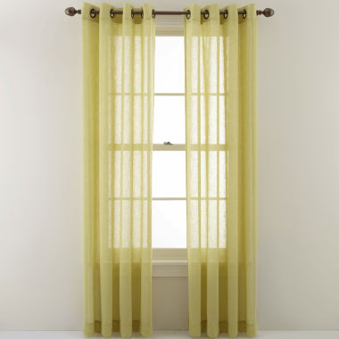 jcpenney.com | MarthaWindow™ Promenade Grommet-Top Curtain Panel