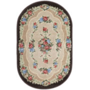 Rosewood Washable Oval Rugs