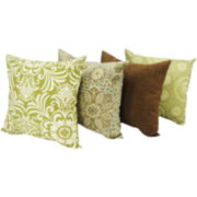 Earthy Outdoor Decorative Pillow Collection