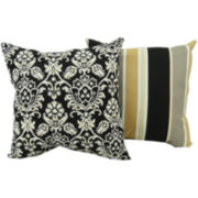 Tuxedo Outdoor Decorative Pillow Collection