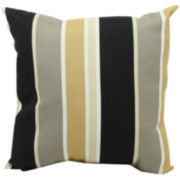 Eden Stripe Tuxedo Decorative Pillow