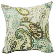 Tamara Paisley Quartz Decorative Pillow