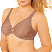 Lilyette® Plunge into Comfort Keyhole Minimizer Full Coverage Bra