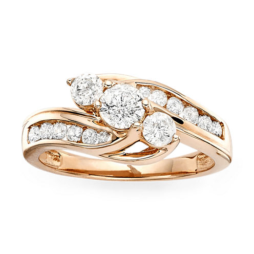 Love Lives Forever™ 1 CT. T.W. Diamond 10K Rose Gold Ring