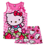 Hello Kitty® 2-pc. Pajama Set – Girls 4-10