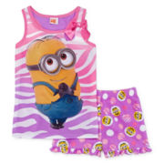 Despicable Me 2-pc. Minion Pajama Set - Girls 4-10