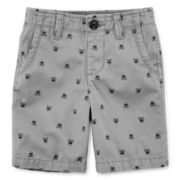 Arizona Print Chino Shorts – Toddler Boys 2t-5t