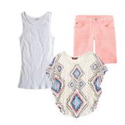 Arizona Circle Top, Tank Top or Bermuda Shorts – Girls 7-16 and Plus