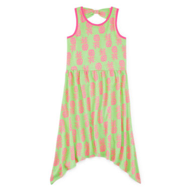 jcpenney.com | Total Girl® Sleeveless Back-Bow Dress - Girls 7-16 and Plus