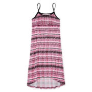 Total Girl® Sleeveless Ruffle Flounce Dress - Girls 7-16