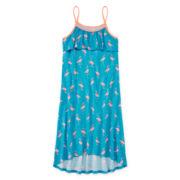 Total Girl® Sleeveless Ruffle Flounce Dress - Girls 7-16 and Plus