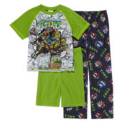 Teenage Mutant Ninja Turtles 3-pc. Pajama Set – Boys 4-12