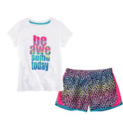 Xersion™ Graphic Tee or Running Shorts – Girls 7-16 and Plus