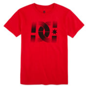 DC Shoes Co® Red Phantom Graphic Tee – Boys 8-20