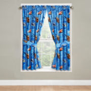 Disney Cars 2-Pack Rod-Pocket Curtain Panels