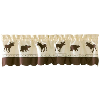 Forest Rod-Pocket Tailored Valance