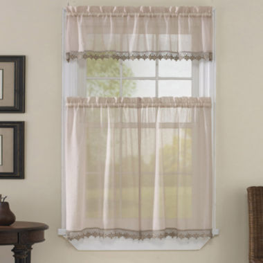 jcpenney.com | Leanne Kitchen Curtains