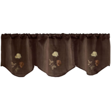 jcpenney.com | Rose Rod-Pocket Inverted Pleated Valance