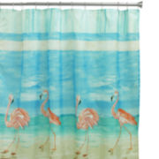 Bacova Flamingo Shower Curtain