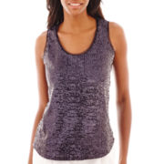 Liz Claiborne® Sequin Tank Top