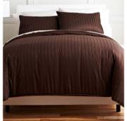 Royal Velvet® 400tc Damask Stripe Egyptian Cotton Comforter Set