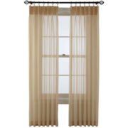 MarthaWindow™ Voile Pinch-Pleat Sheer Panel Pair
