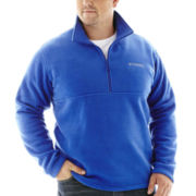 Columbia® Lone Ridge Half–Zip Fleece Turnover–Big & Tall