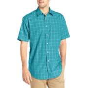 Van Heusen® Short-Sleeve No-Iron Woven Shirt