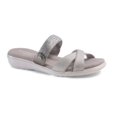 jcpenney.com | Grasshoppers® Womens Finley Strap Slip-On Sandals