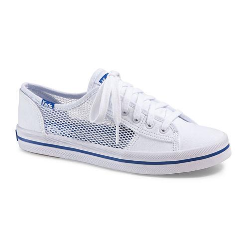 Keds® Womens Kickstart Mesh Lace-Up Sneakers