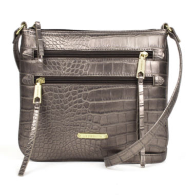 jcpenney.com | Liz Claiborne® Zippery Crossbody Bag