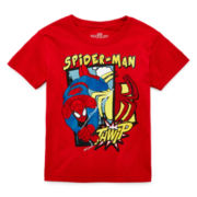 Spider-Man Short-Sleeve Graphic Tee - Toddler Boys 2t-5t