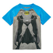 Batman Short-Sleeve Raglan Tee - Toddler Boys 2t-5t