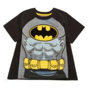 Batman Cape Tee – Toddler Boys 2t-5t