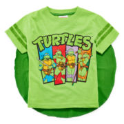 Teenage Mutant Ninja Turtles Cape Tee – Toddler Boys 2t-5t