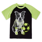 Okie Dokie® Short-Sleeve Raglan Tee - Toddler Boys 2t-5t