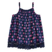 Arizona Crochet Bottom Tank Top - Preschool Girls 4-6x