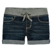 Arizona Rib Waist Shortie Shorts - Preschool Girls 4-6x