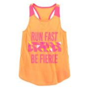 Xersion™ Contrast Panel Tank Top - Preschool Girls 4-6x