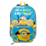 Minions Say Eye Backpack and Lunchbox