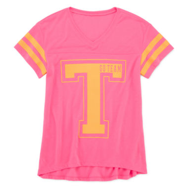 jcpenney.com | Xersion™ Short-Sleeve Football Graphic Tee - Girls 7-16 and Plus