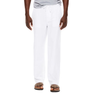 jcpenney.com | Island Shores™ Linen-Cotton Drawstring Pants