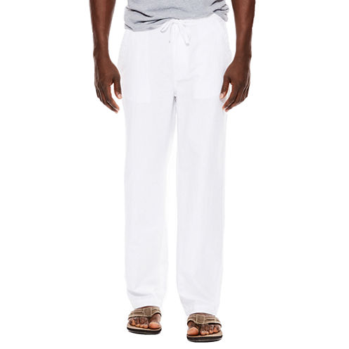 Island Shores™ Linen-Cotton Drawstring Pants
