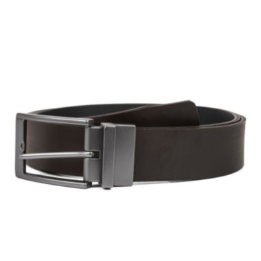 jcpenney.com | Haggar® Smooth Leather Reversible Dress Belt