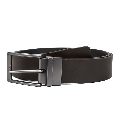Haggar® Smooth Leather Reversible Dress Belt